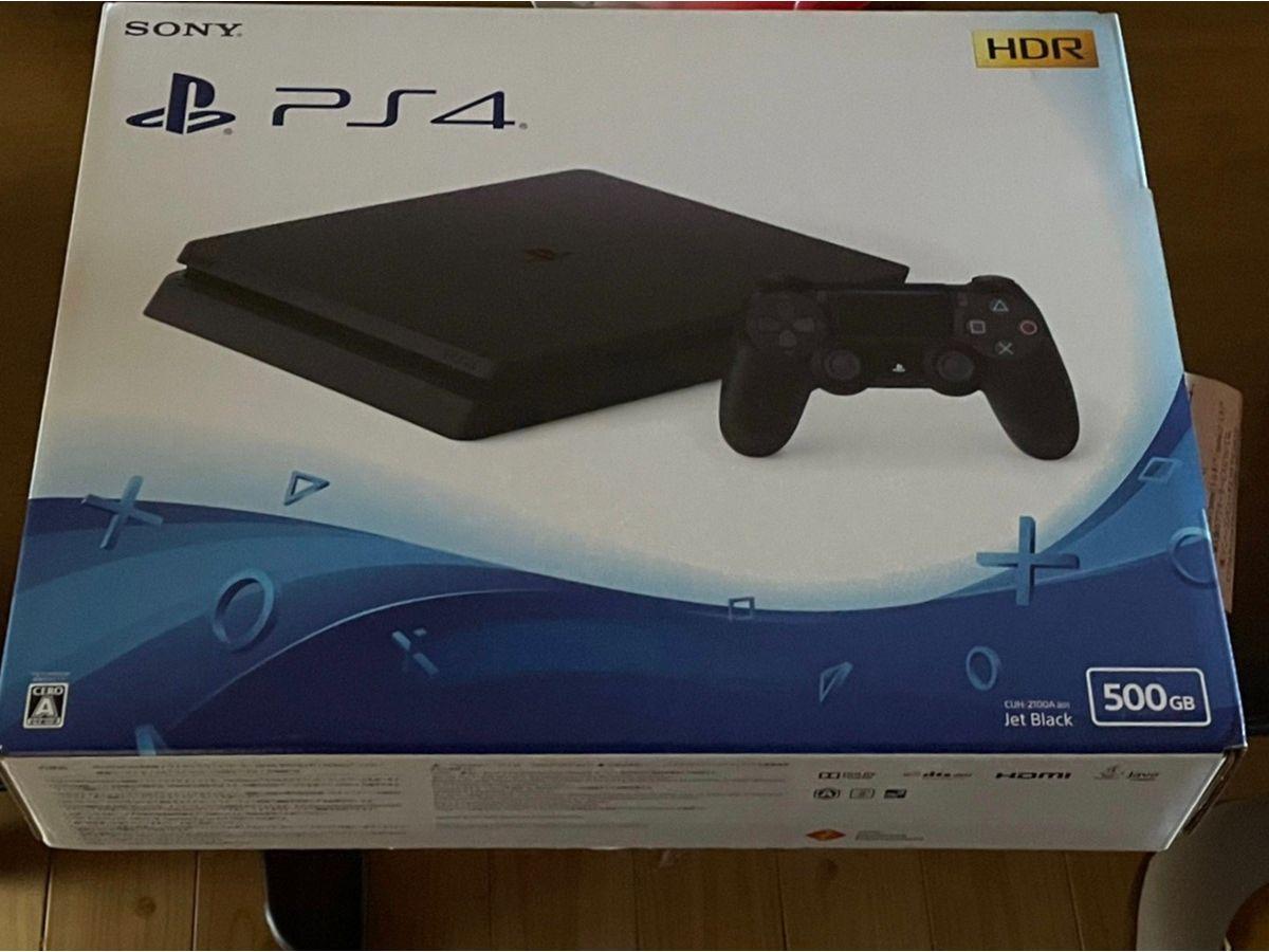 PlayStation 4 ジェット・ブラック 500GBを買い取りました
